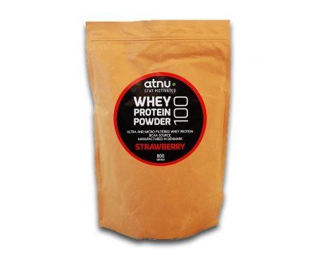 Atnu Proteinpulver – Jordbær – 800 gram