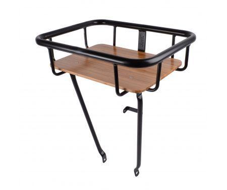 Atran Cargo Jumbo Basket – Forbagagebærer med træbund – Sort