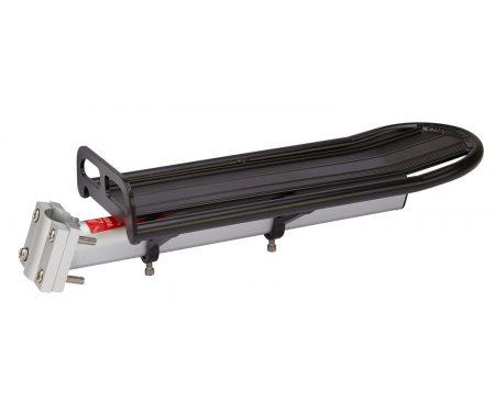 Atredo – Bagagebærer – Montering på sadelpind – Sort