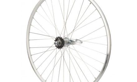 Atredo – Baghjul – 700C – 1 gear – Fodbremse – Sølv