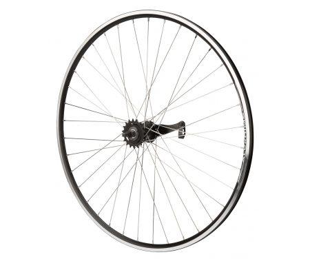 Atredo – Baghjul – 700C – 1 gear – Fodbremse – Sort