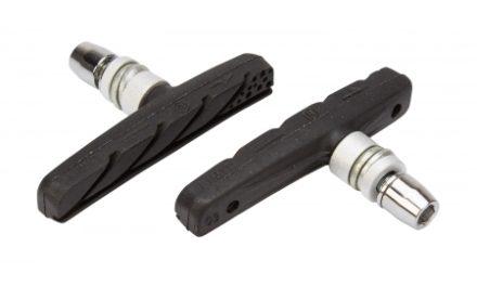 Atredo – Bremseklodser – MTB – V-bremse – 72 mm – sort – bedre bremse effekt