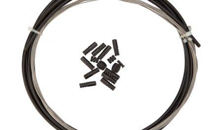 Atredo – Gearkabel – 4 mm – 1700mm/2100mm – Sort – Sæt til for- og bag