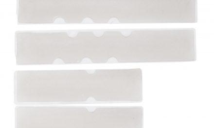 Atredo – Gel indlæg til styrbånd – Sæt med 4 pads – Transparent