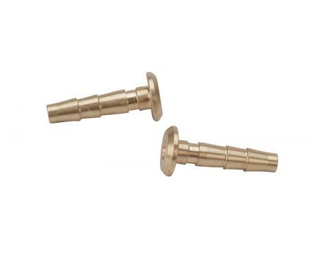 Atredo – Hydraulisk nippel – Til Avid/Magura – 2.1mm – Messing – 2 stk.