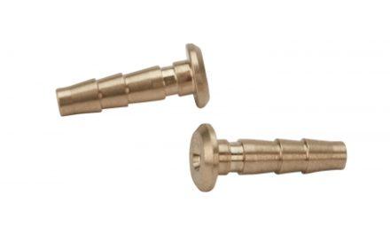 Atredo – Hydraulisk nippel – Til Shimano/Formula – 2.3mm – Messing – 2 stk.