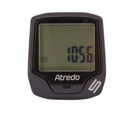 Atredo – M5 – Cykelcomputer med 5 funktioner og ledning – Sort
