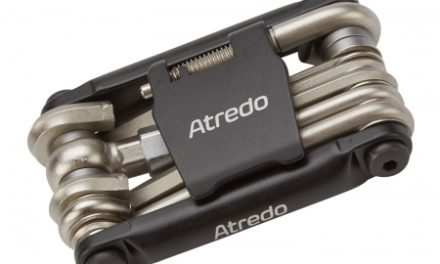 Atredo – Multitool – 12 funktioner – Med co2 inflator og kædeadskiller