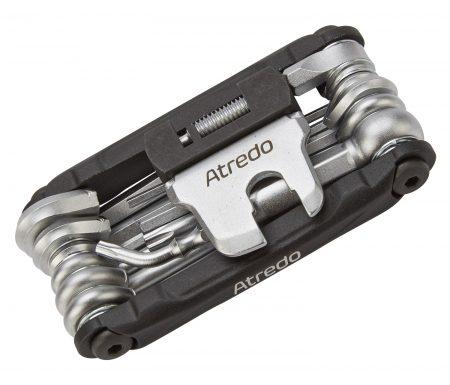 Atredo – Multitool – 17 funktioner – Med kædeadskiller