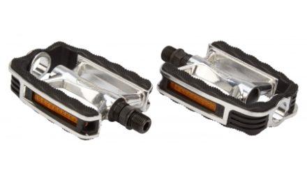 "Atredo – Pedal – Sport – 9/16"" – Aluminium sølv/sort"
