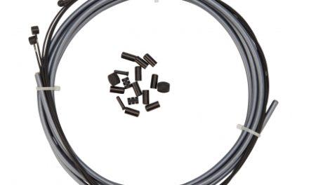 Atredo – Premium Kevlar/Teflon Bremsekabel -5mm – Grå – Sæt til for og bag