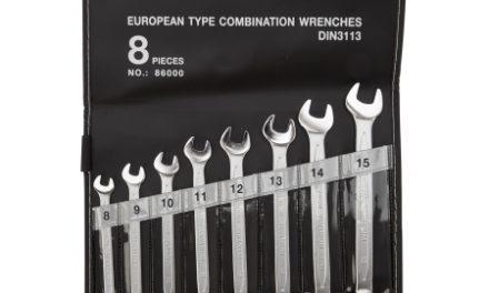 Atredo – Ringgaffelnøglesæt – Fra 8 til 15 mm – 8 stk.