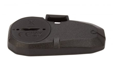 Atredo – Sensor til cykelcomputer – Med CR2032 batteri – Plast – Sort
