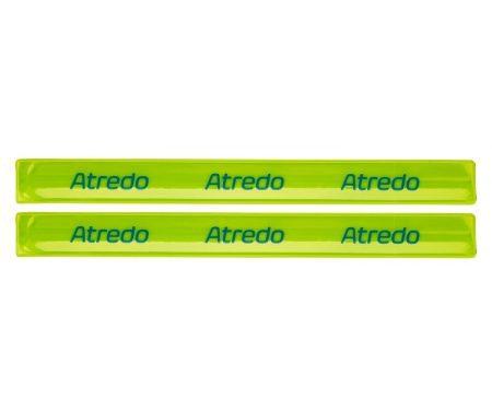 Atredo – Slap-wrap – Refleks buksebånd – Gul – 30 cm – 2 stk.