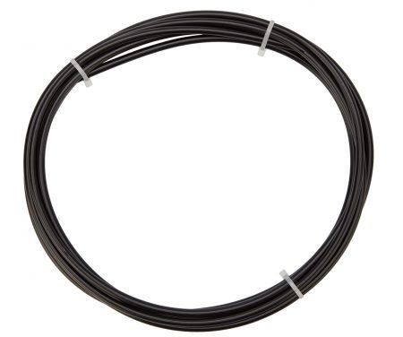 Atredo – Yderkabel til bremse – 5 mm – Længde 3 meter – Sort