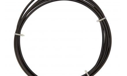 Atredo – Yderkabel til gear – 4mm – Længde 3 meter – Sort