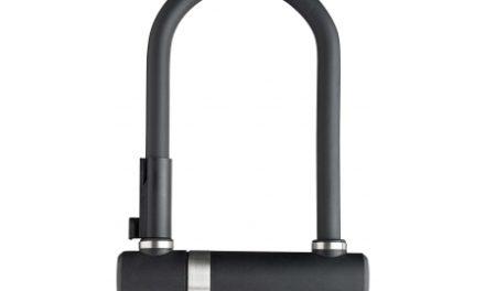 AXA Newton Pro 190 – Bøjlelås med 3 nøgler og beslag – Sort – 190 mm