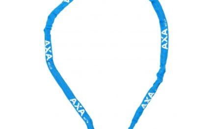 AXA – RIGID – Kædelås til børn – 1200X3,5mm m/kode – Blå