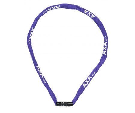 AXA – RIGID – Kædelås til børn – 1200X3,5mm m/kode – Lilla