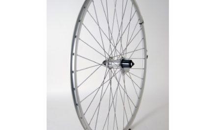 Baghjul 700c til 7 udvendige gear sølv