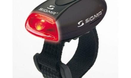 Baglygte Sigma MicroLight II Sort