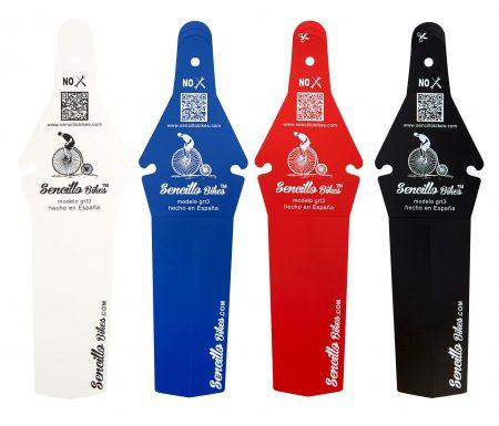 Bagskærm til racercykler – Sencillo ass saver