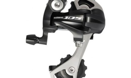 Bagskifter Shimano 105 2 x 10 gear Sort
