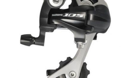 Bagskifter Shimano 105 3 x 10 gear Sort