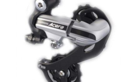 Bagskifter Shimano Acera 3 x 7 gear eller 3 x 8 gear Sølv