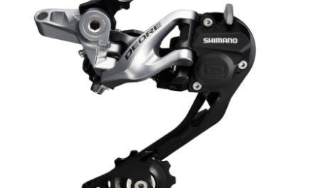 Bagskifter Shimano Deore 3 x 10 gear Shadow RD+ Sølv