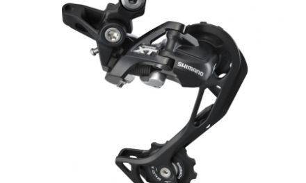 Bagskifter Shimano XT Shadow RD+ Model RD-M786 2 x 10 gear Sort