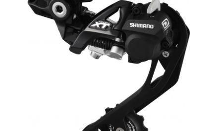 Bagskifter Shimano XT Shadow RD+ Model RD-M786 SGS 3 x 10 gear Sort