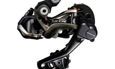 Bagskifter Shimano XTR Shadow RD+ 11 gear Sort Di2 med kort arm