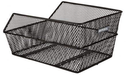 Basil Cento Small Kurv til bagagebærer – 31,5×21,5×17 cm – Sort