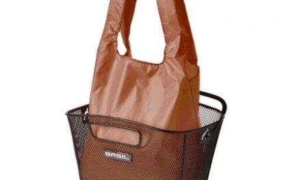 Basil – Keep shopper – Indkøbspose til kurv – Brun