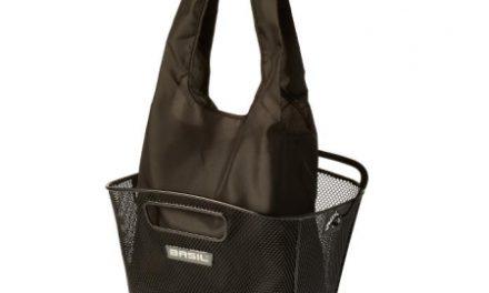Basil – Keep shopper – Indkøbspose til kurv – Sort