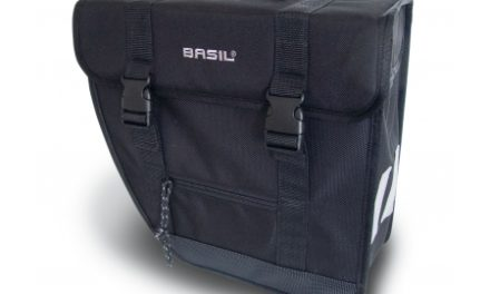 Basil Tour Single 17L – Cykeltaske til bag – Venstre – Sort
