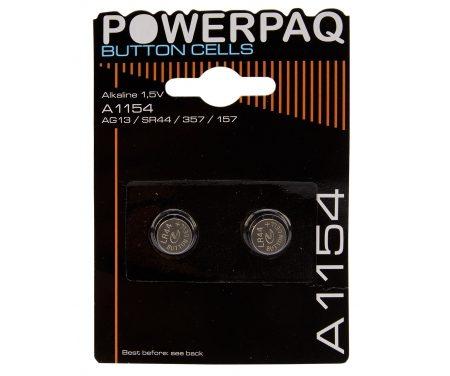 Batterier Alkaline A1154 1,5V. 2 stk.