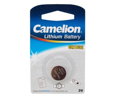 Batterier Lithium CR1632 3V.1 stk