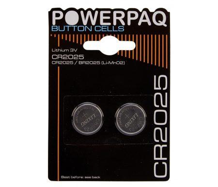 Batterier Lithium CR2025 3V.2 stk