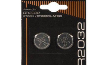 Batterier Lithium CR2032 3V.2 stk