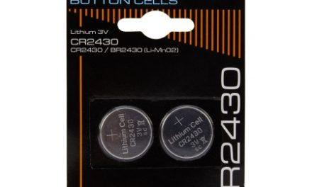 Batterier Lithium CR2430 3V.2 stk