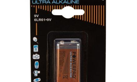 Batterier Ultra Alkaline 9V