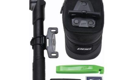 BBB – Combipack M – Sadeltaske m/pumpe, dækjern, minitool, lappesæt