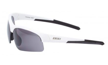 BBB – Løbe- og cykelbrille Impress Lady – 3 sæt linser – Hvid
