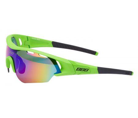 BBB – Løbe- og cykelbrille Summit – 3 sæt linser – Grøn