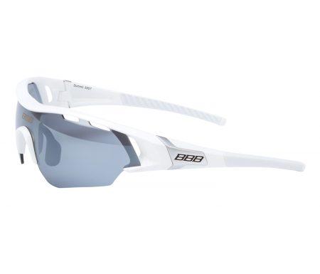 BBB – Løbe- og cykelbrille Summit – 3 sæt linser – Hvid