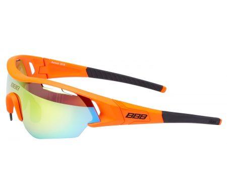 BBB – Løbe- og cykelbrille Summit – 3 sæt linser – Matorange