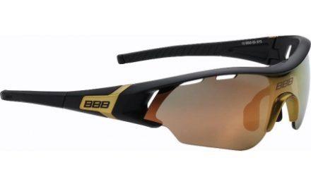 BBB –  Løbe- og cykelbrille Summit – 3 sæt linser – Matsort