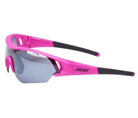 BBB – Løbe- og cykelbrille Summit – 3 sæt linser – Pink